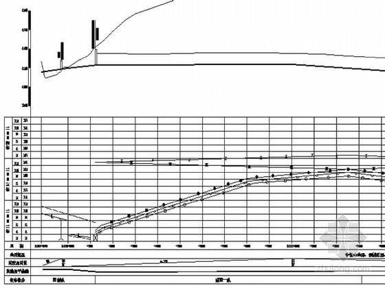 分离式隧道工程施工形象进度图CAD