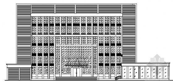 某七层办公楼方案设计带效果图