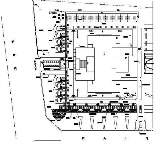 四川科技园景观工程施工图