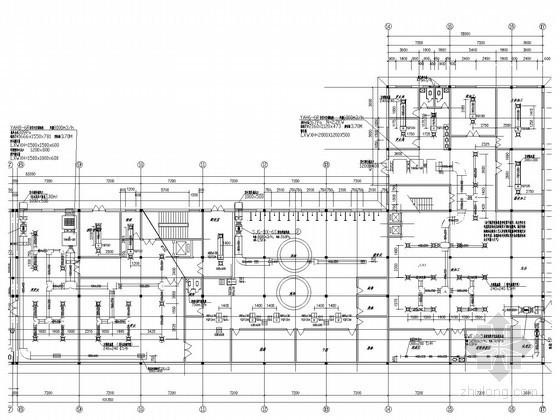 小高层综合楼采暖空调及通风排烟系统设计施工图(建筑用途多)