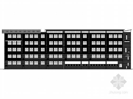 [贵州]某五层教学楼建筑施工图
