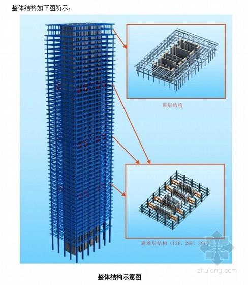 [天津]超高层办公楼施工组织设计(52层 外钢框架 内钢骨)