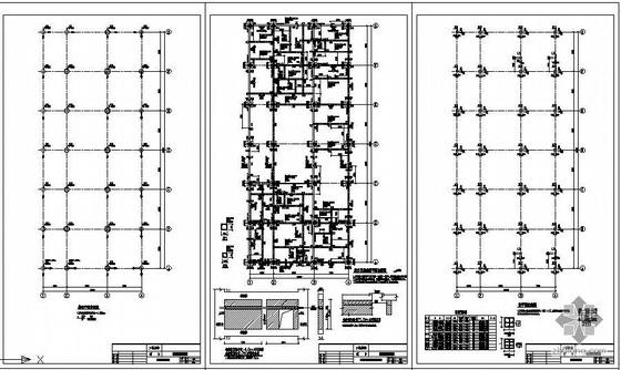 贵州某公司拆建工程提取车间结构图