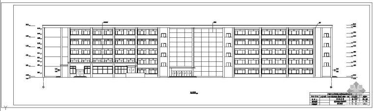 [学士]某五层框架教学楼毕业设计(含计算书、建筑结构设计图)