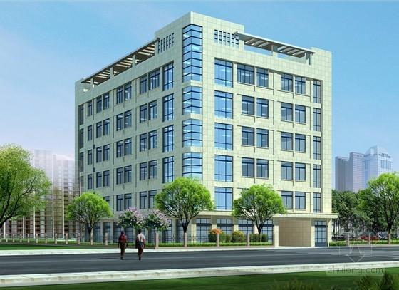 [河南]办公楼室内装修工程施工合同(6页)