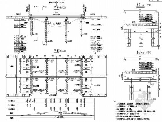 跨径10+13+10米空心板桥施工设计图(设计院)