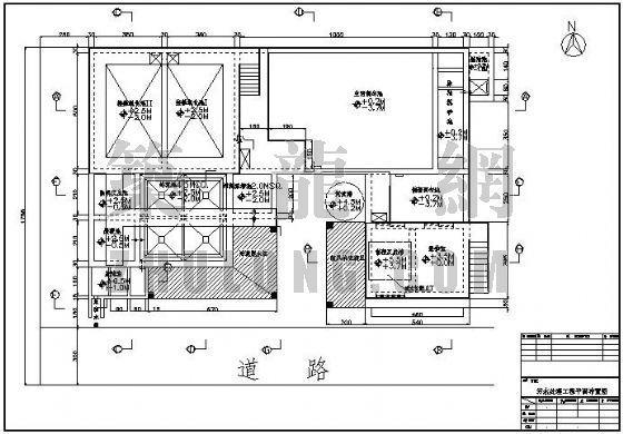 某污水工程构筑物及设备详图