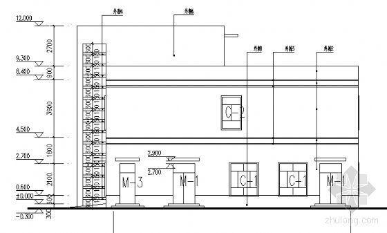 某二层医务所建筑方案图-2