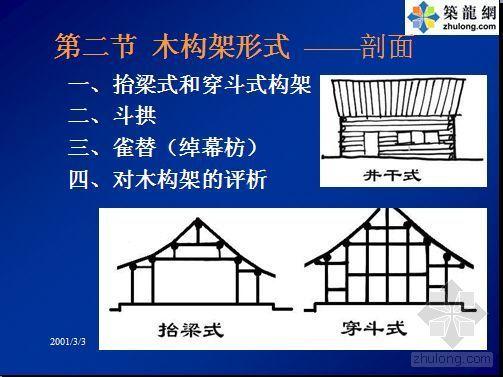 中国古代建筑史(技术二)