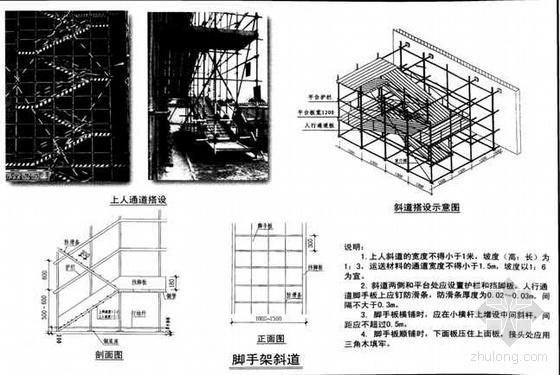 青岛某住宅小区外脚手架施工方案(小高层 短肢剪力墙)