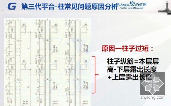 广联达第三代平台整体解决方案之中高级应用培训课件293页(软件算量计价定额规范讲解)-柱常见问题原因分析