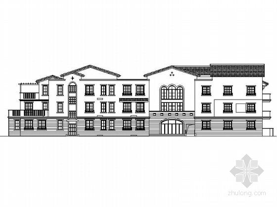 [山东]欧式风格3层幼儿园建筑设计施工图