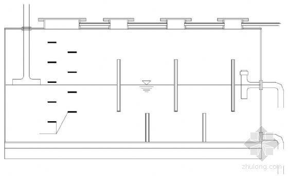 某步行街污水改造钢结构四格隔油池