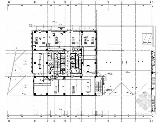 [重庆]商业办公塔楼及裙楼空调通风系统设计施工图(含负荷计算)