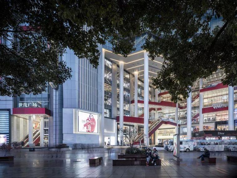 重新连结城市生活-上海世茂广场改造,上海/Kokaistudios