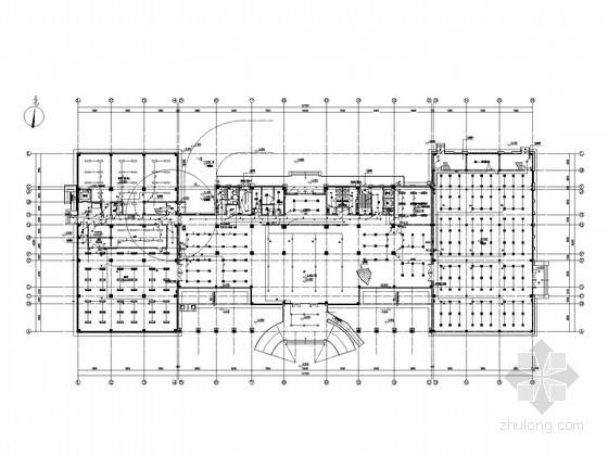 [浙江]一类档案馆办公大楼强电施工图纸(安装大样)