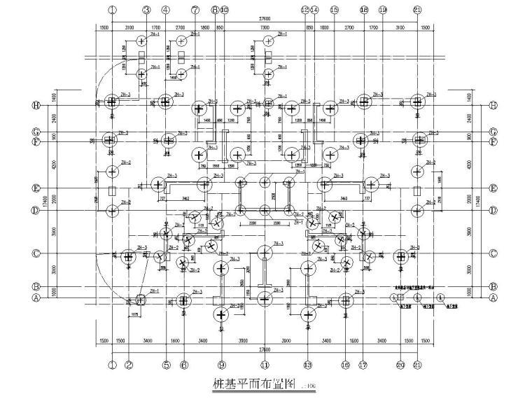 [江西]28层框剪结构高层住宅楼项目结构施工图
