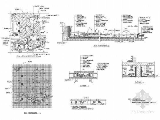 园林水景节点施工图(60个CAD图纸)