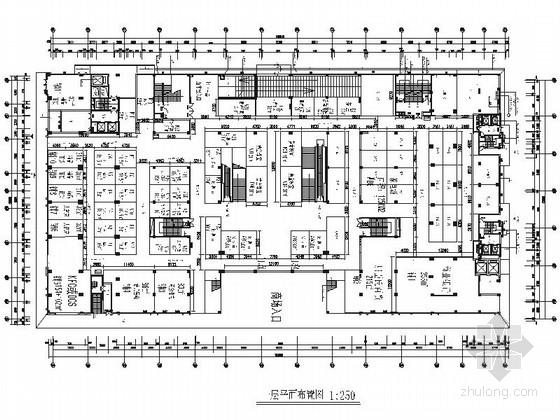 [江西]原创精品现代商业百货广场CAD装修施工图(含效果)