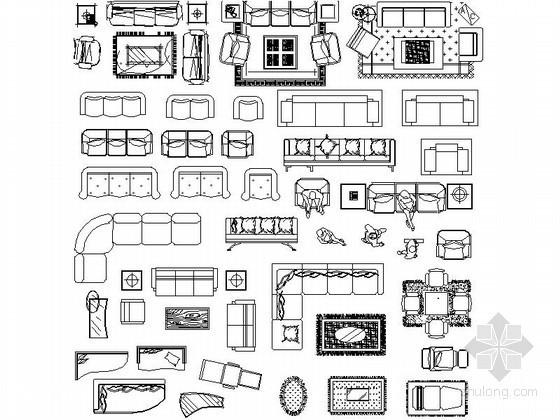 全套综合室内CAD图块下载