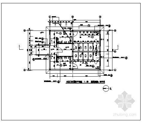 某砌体厕所结构设计图