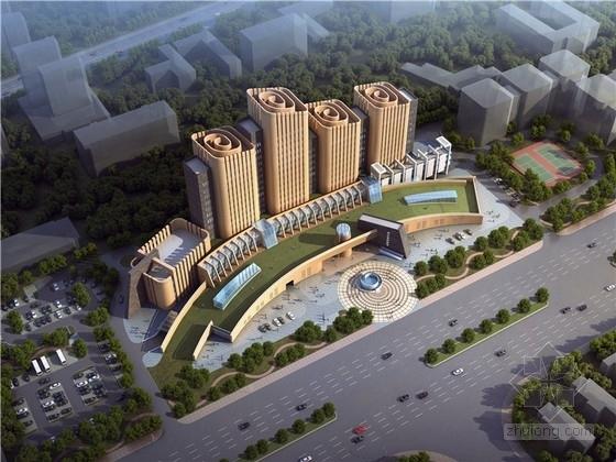 [湖北]竹简形态档案馆建筑设计方案文本(含CAD SU模型)