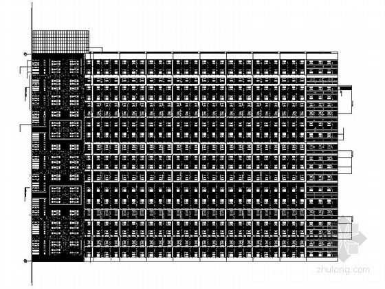 [长春]31层剪力墙结构高层住宅楼设计施工图