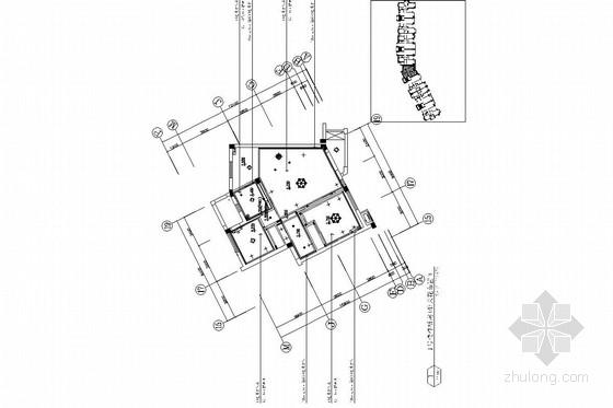 [大连]田园风格两居室室内装修施工图(含实景照片)