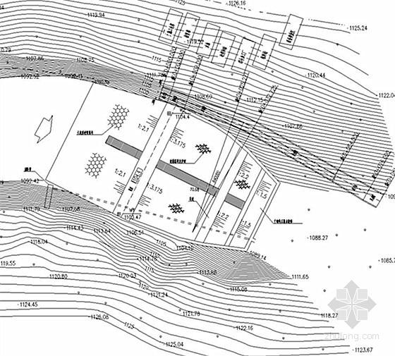 [重庆]小(二)型病险水库除险加固工程施工图(大坝 溢洪道)