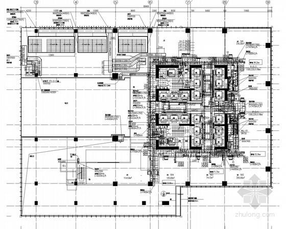 [广东]203米超高层金融中心通风空调及防排烟系统设计施工图(大院作品 蓄冰系统)
