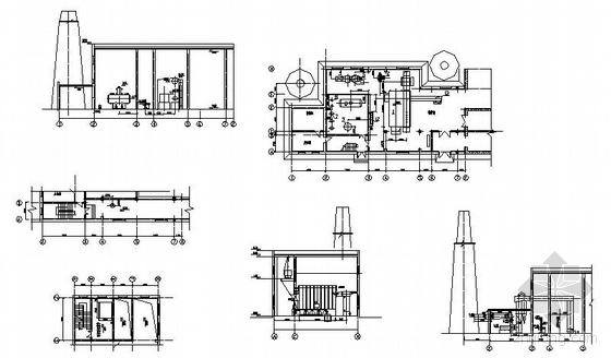 某锅炉房设计全套图图片