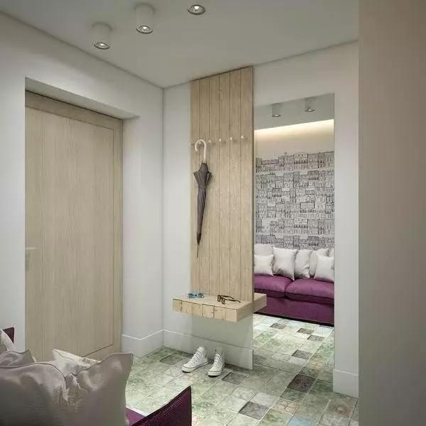这样的小户型设计超赞,四十八平米有客卧和吧台!