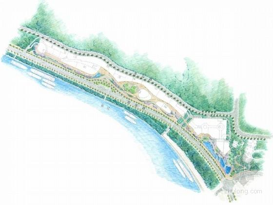 [重庆]动感滨海公园景观规划设计方案