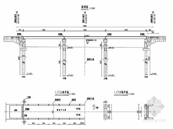 [湖北]3孔20m简支空心板梁桥施工图34张(先简支后连续)