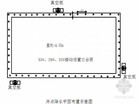 [江苏]住宅小区地下室基坑轻型井点降水施工方案