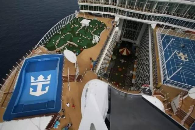 """一座海上的超级巨无霸,把""""公园""""搬到了船上!!_18"""