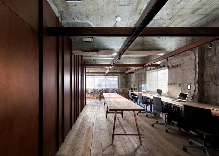 建筑师给自己设计的办公室,什么样的都有_16