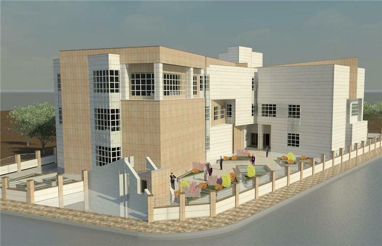BIM模型-revit模型-人性化办公楼模型