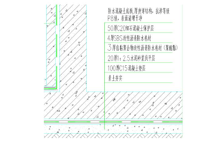 黄山中铁滨江名邸工程地下室防水施工方案
