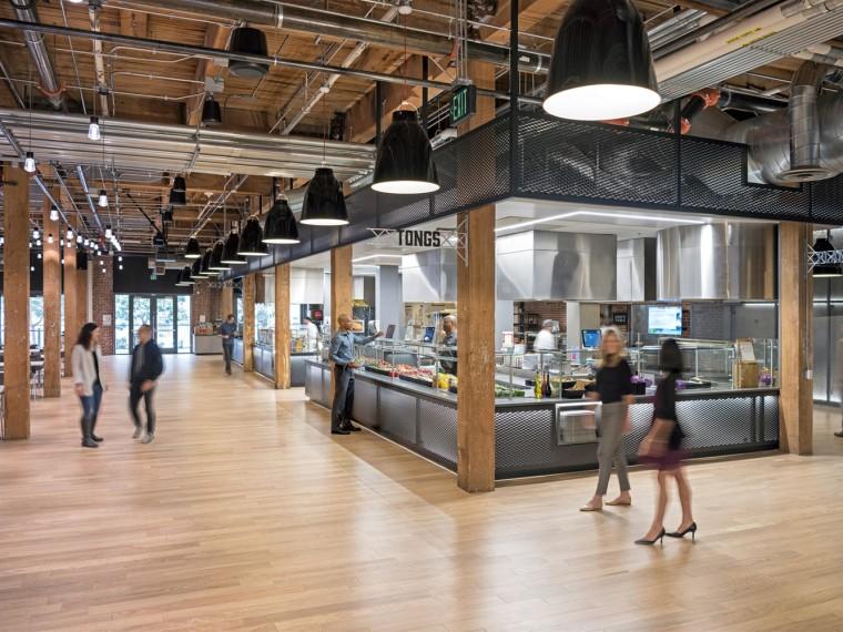 美国Adobe员工食堂