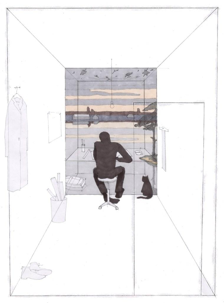 """探索将闲置的夹缝空间,变成""""建筑工作室"""""""