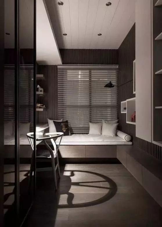 榻榻米床+柜子如何组合设计?35个案例告诉你..._30