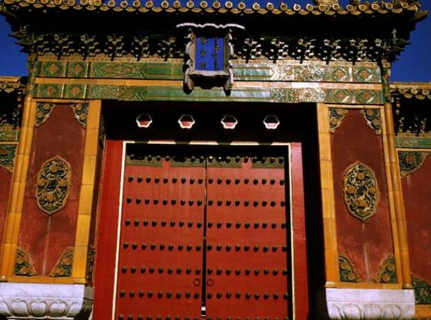 中国古建筑的结构-古建筑大门