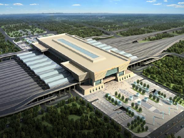 [郑州]综合枢纽站房工程建造施工新技术