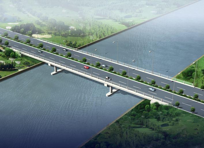 桥梁工程监理工作流程图
