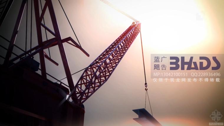 超牛的钢结构施工方案,配全过程BIM模拟施工动画截图