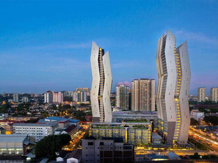 马来西亚TheCapers综合住宅楼_1