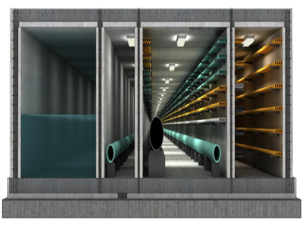 预制叠合(装配)整体式地下综合管廊