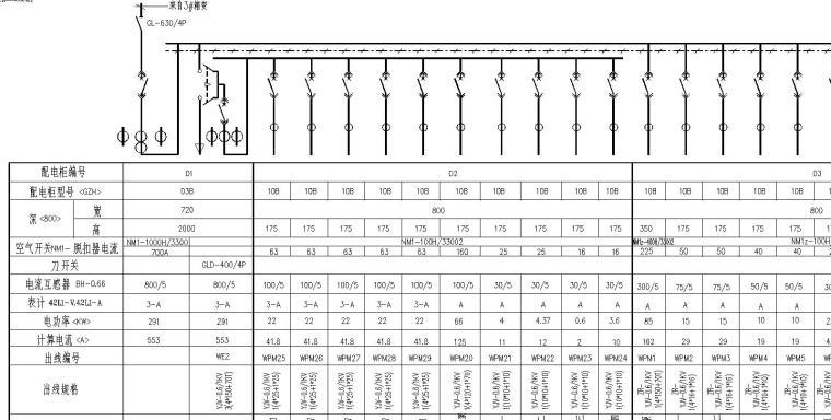 U型槽框架桥设计图纸资料下载-某住宅小区电气设计图纸