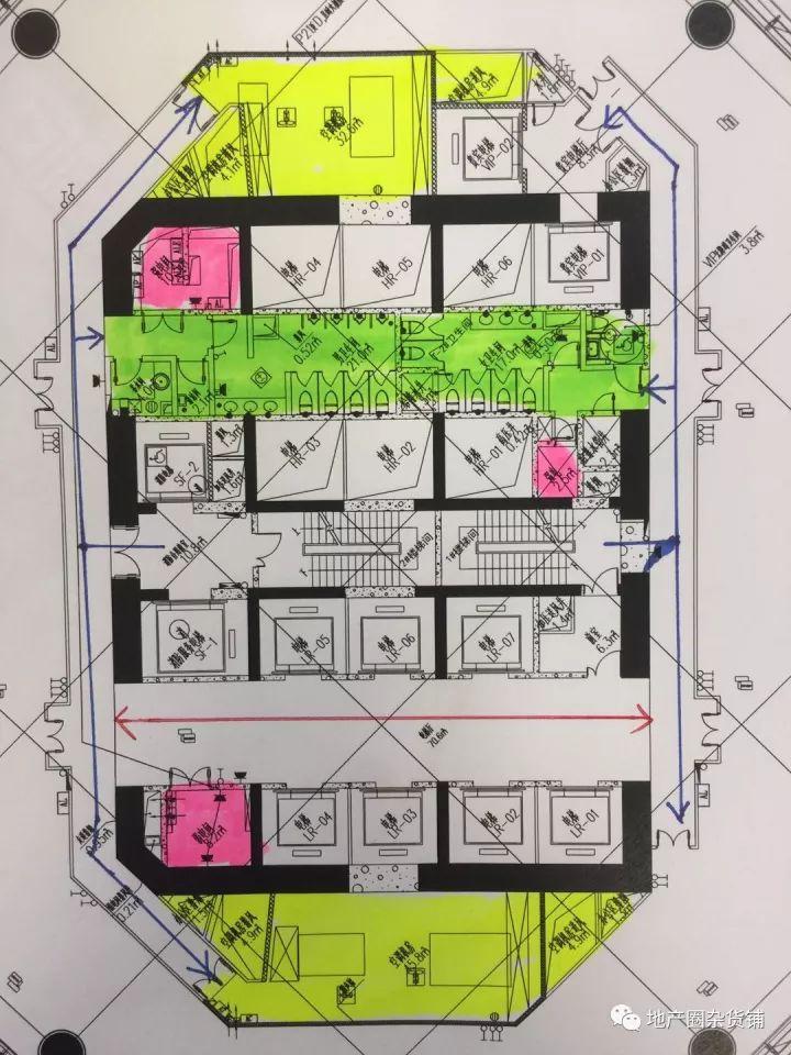 超高层写字楼核心筒布局技术与经济探索_21